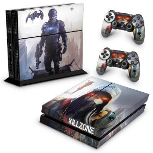 Ps4 Fat Skin - Killzone Shadow Fall
