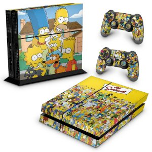 Ps4 Fat Skin - The Simpsons