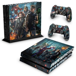 Ps4 Fat Skin - The Avengers - Os Vingadores