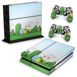 Ps4 Fat Skin - Super Mario