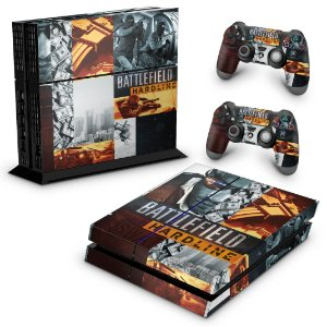 Ps4 Fat Skin - Battlefield Hardline