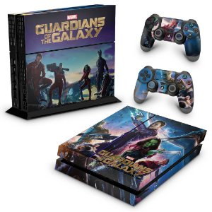 Ps4 Fat Skin - Guardioes da Galaxia