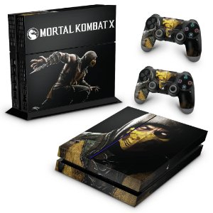Ps4 Fat Skin - Mortal Kombat X