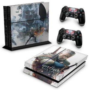 Ps4 Fat Skin - The Witcher #B