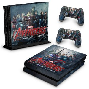 Ps4 Fat Skin - Avengers - Age of Ultron
