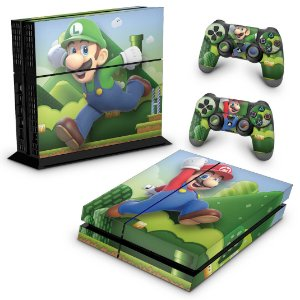 Ps4 Fat Skin - Super Mario Bros
