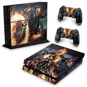 Ps4 Fat Skin - Ghost Rider #A