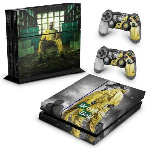 Ps4 Fat Skin - Breaking Bad