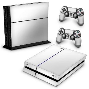 Ps4 Fat Skin - Branco
