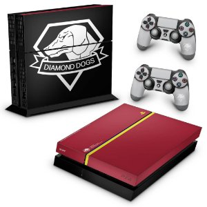 Ps4 Fat Skin - The Metal Gear Solid 5 Special Edition