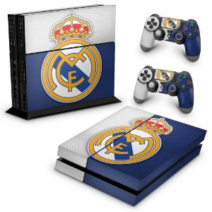 Ps4 Fat Skin - Real Madrid