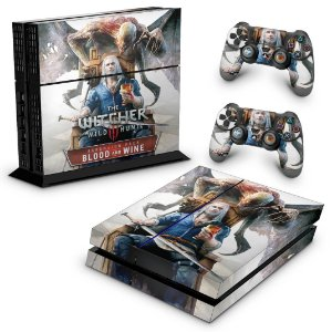 Ps4 Fat Skin - The Witcher 3: Wild Hunt - Blood and Wine