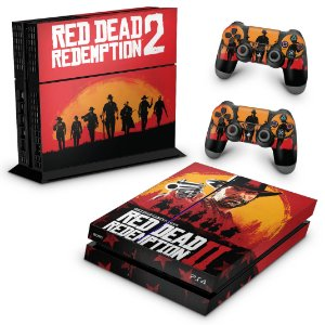Ps4 Fat Skin - Red Dead Redemption 2