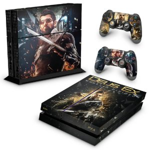 Ps4 Fat Skin - Deus Ex: Mankind Divided