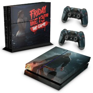 Ps4 Fat Skin - Friday the 13th The game Sexta-Feira 13