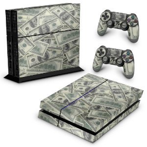 Ps4 Fat Skin - Dollar Money Dinheiro