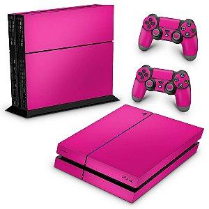 Ps4 Fat Skin - Rosa Pink