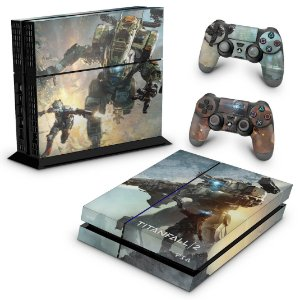 Ps4 Fat Skin - Titanfall 2 #b