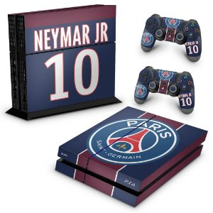 Ps4 Fat Skin - Paris Saint Germain Neymar Jr PSG