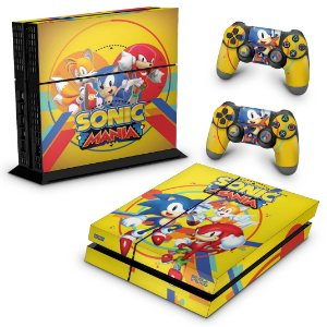 Ps4 Fat Skin - Sonic Mania