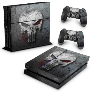 Ps4 Fat Skin - The Punisher Justiceiro #b