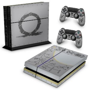 Ps4 Fat Skin - God Of War Limited Edition
