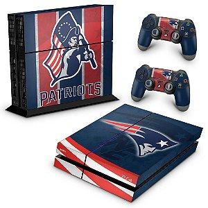 PS4 Fat Skin - New England Patriots NFL