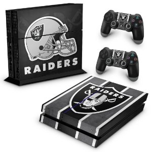 PS4 Fat Skin - Oakland Raiders NFL