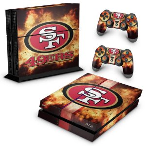 PS4 Fat Skin - San Francisco 49ers - NFL