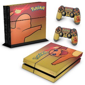 PS4 Fat Skin - Pokemon Charmander