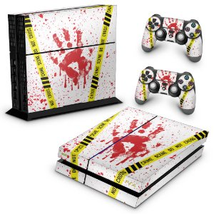 Ps4 Fat Skin - Cena de Crime Scene