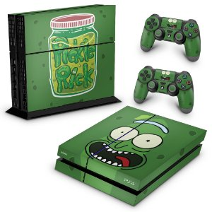 PS4 Fat Skin - Pickle Rick and Morty