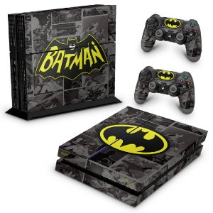 PS4 Fat Skin - Batman Comics