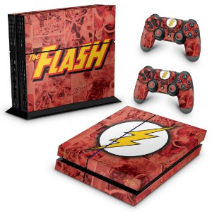 PS4 Fat Skin - The Flash