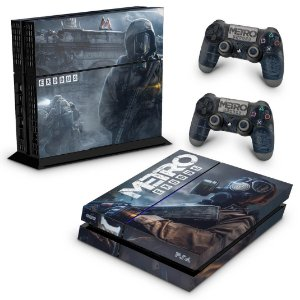 PS4 Fat Skin - Metro Exodus