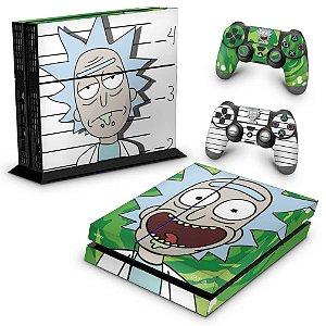 PS4 Fat Skin - Rick Rick and Morty