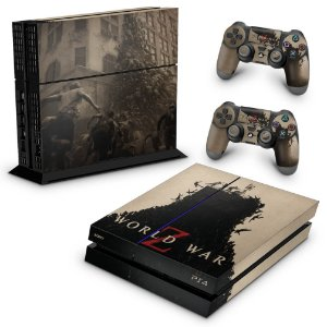 PS4 Fat Skin - World War Z