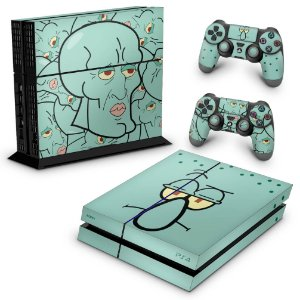 PS4 Fat Skin - Lula Molusco Bob Esponja
