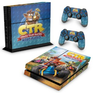 PS4 Fat Skin - Crash Team Racing CTR