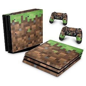 PS4 Pro Skin - Minecraft