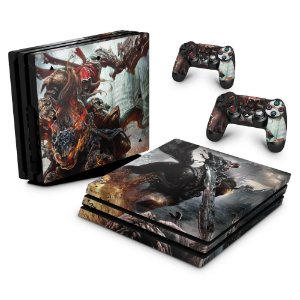 PS4 Pro Skin - Darksiders - Wrath of War