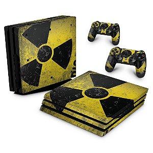 PS4 Pro Skin - Radioativo