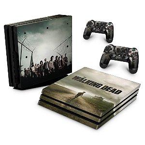 PS4 Pro Skin - The Walking Dead