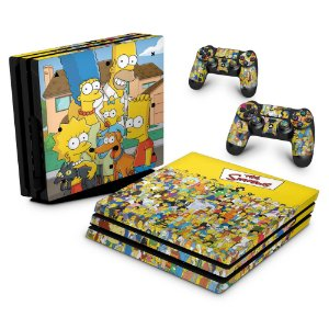 PS4 Pro Skin - The Simpsons