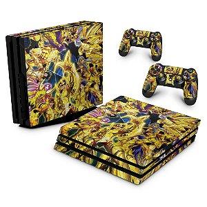 PS4 Pro Skin - Cavaleiros Do Zodiaco
