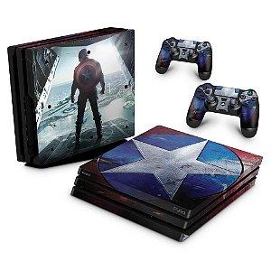 PS4 Pro Skin - Capitao America