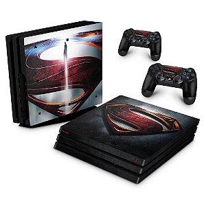 PS4 Pro Skin - Superman - Super Homem