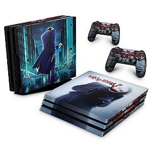 PS4 Pro Skin - Coringa Joker #A
