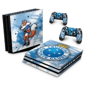 PS4 Pro Skin - Cruzeiro
