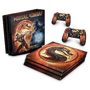 PS4 Pro Skin - Mortal Kombat